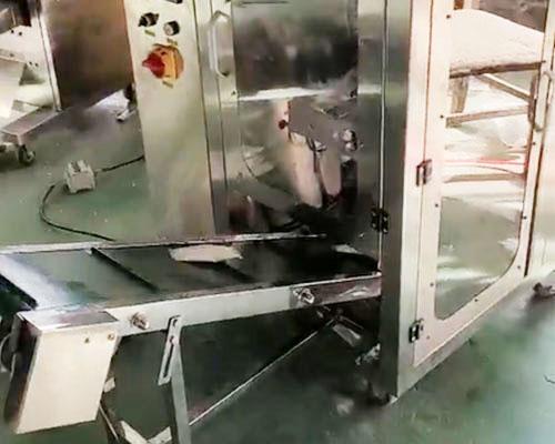鈦粉長條袋自動包裝機