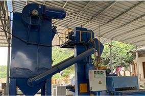 透水磚的生產工藝流程