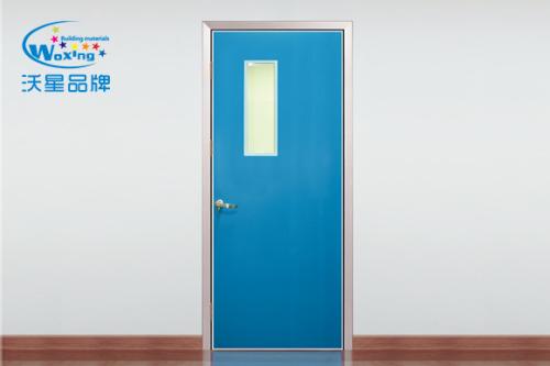 钢质单开门