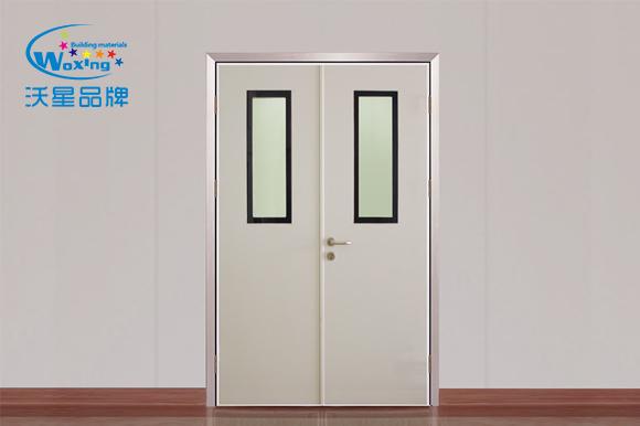 鋼質雙開門