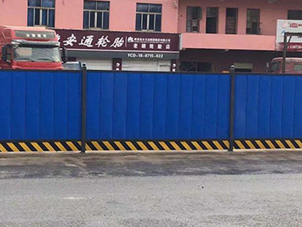 PVC围挡原来这么受施工方欢迎