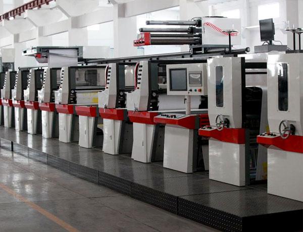 印刷機械應用行業