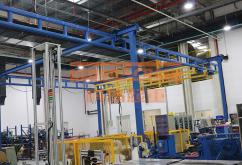 組合自立式鋼性梁起重機
