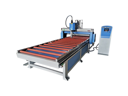 Door and window gluing machine