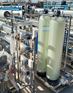 西安醫院5噸單級反滲透水處理設備