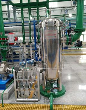西安燃氣電廠除鹽水處理設備