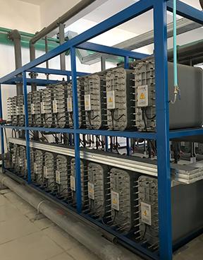 西安電廠EDI模塊化學水處理設備