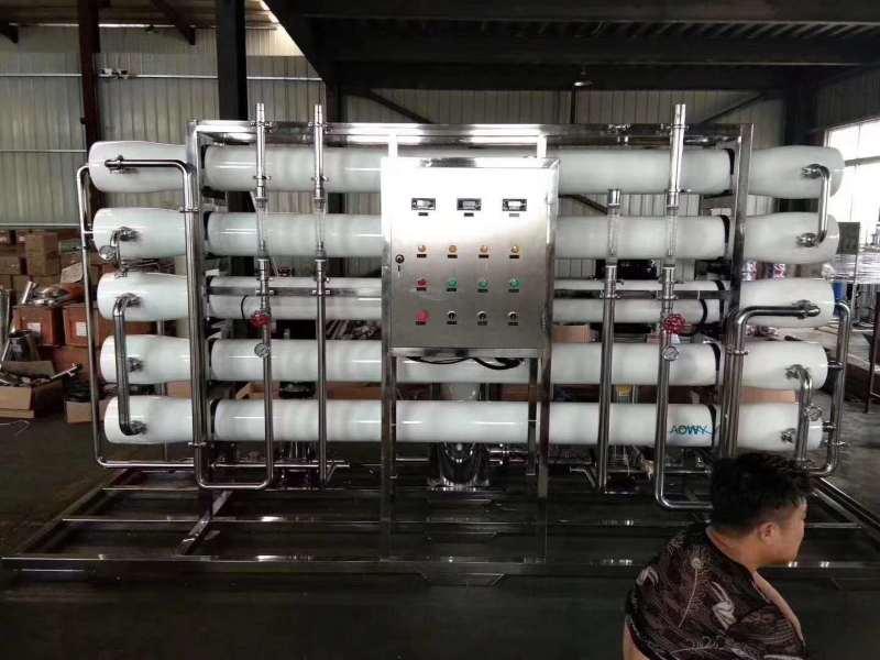 反滲透水處理凈化水設備助力行業發展