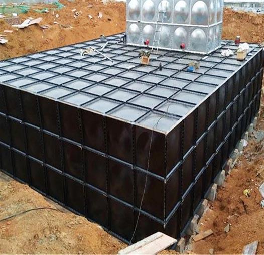 张家界BDF地埋式水箱施工