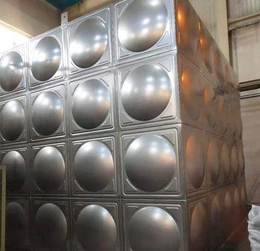 钦州鄂尔多斯不锈钢组合式水箱