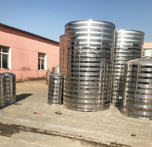 乌兰察布不锈钢圆柱形水箱