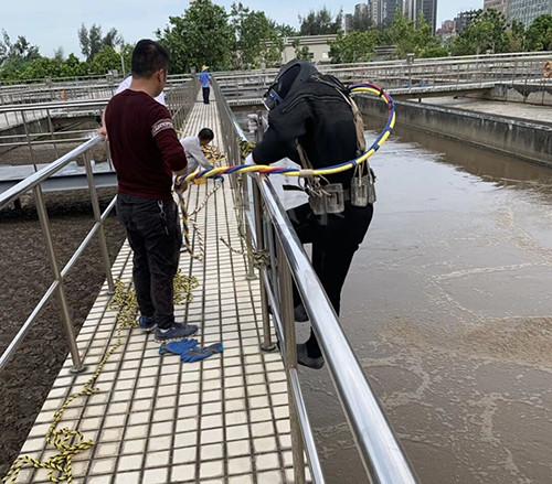 污水池水下维修