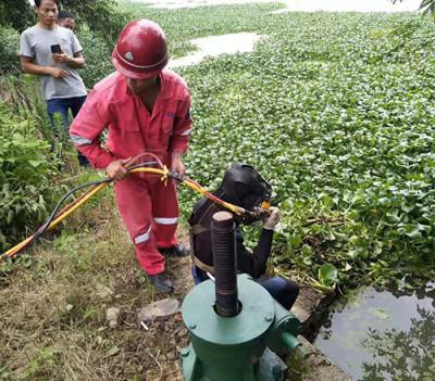 北京水下管道堵漏公司