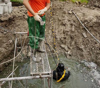 水下封堵作业