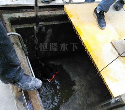 水下拆除管道