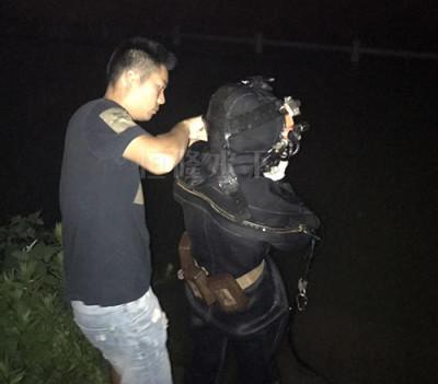 北京夜晚水下维修