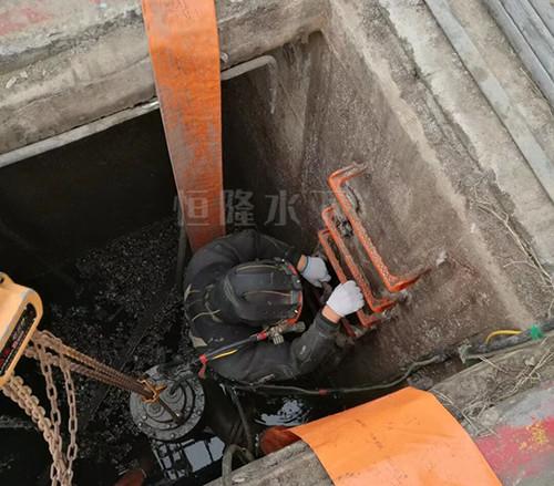 水下清淤施工
