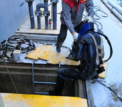 水下设备维修安装拆除