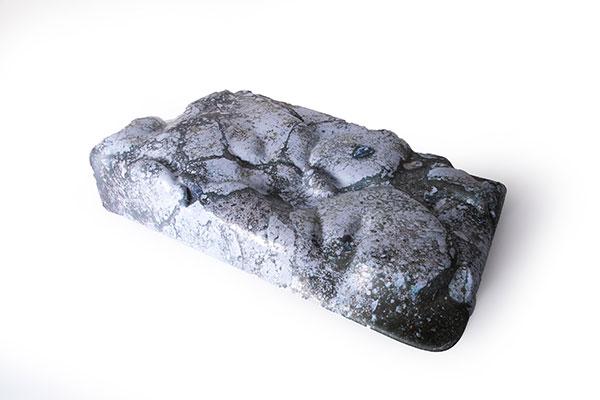 仿大理石纹外观件