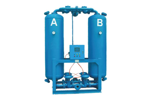 你了解微熱再生吸附機與無快熱式吸附再生干燥機有什么不同嗎?