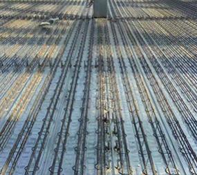 鋼筋桁架樓承板安裝