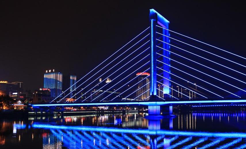 桥梁亮化案例