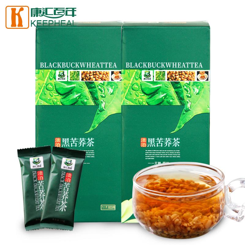 小圖綠盒黑苦蕎茶(全胚)