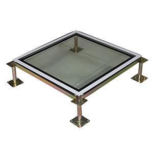 玻璃防靜電地板