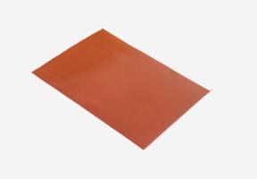 半生半熟铁红硅胶布