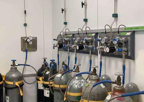 氣路系統-鋼瓶間
