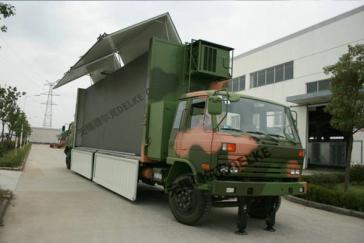 军用指挥系统战车电动推杆