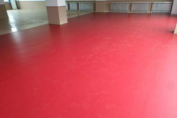 煙臺乒乓球運動地板