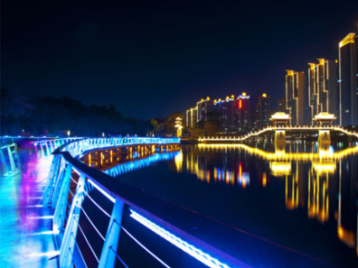 惠州市金山湖公园网红桥工程