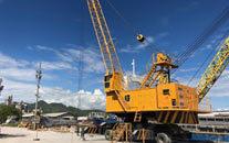 螺旋卸船机厂家浅谈移动式螺旋卸船机的日常保养工作