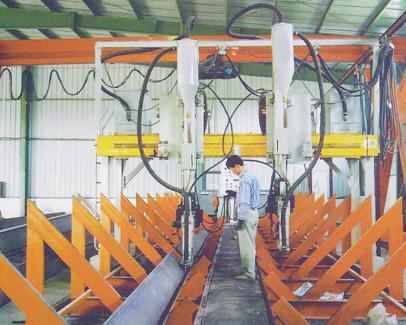 全自動龍門型埋弧焊機