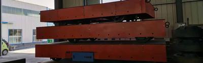 山東黃金20噸蓄電池電動平車