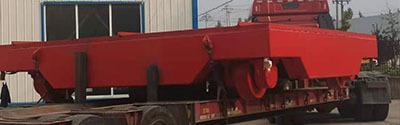 150噸超寬電動平車發貨中