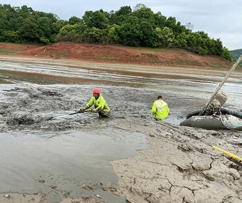 泥泵清淤工程