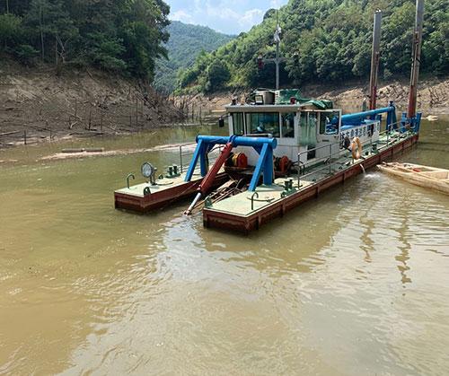 湖南清淤疏浚河道