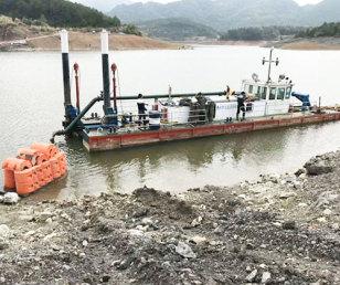 景德鎮船舶清淤施工