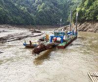 抚州资溪河道清淤