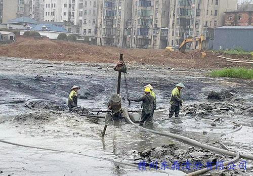 江西省九江市鄒家咀湖清淤脫水固化工程