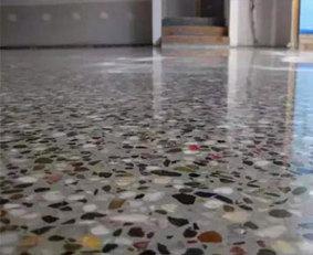 上海水磨石固化地坪