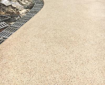 水洗石地坪
