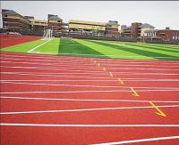 自結紋塑膠跑道