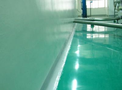 南京康師傅水性環氧墻面