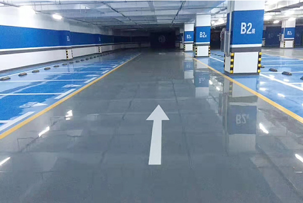 固化劑地坪