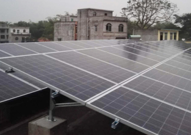 5kW photovoltaic power generation poverty alleviation project in Longgong village, Fulong Township, Yizhou City