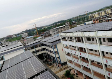 440kw photovoltaic project of Jinxiu vocational school