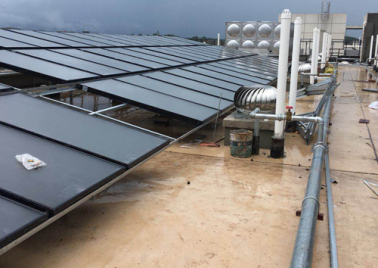 Nanning Wuxiang Grain and Oil Solar Hot Water Project
